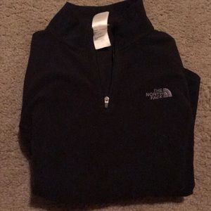 The North Face pullover half zip